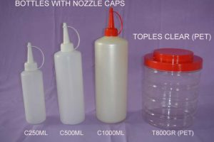 bottle nozcaps 2505001000ml toples t-800pet